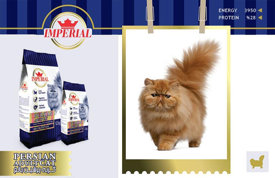 غذای گربه پرشین بالغ امپریال