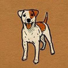 زبان آویزان و رهای سگ