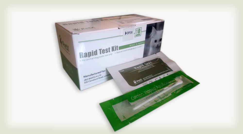 کیت تشخیص سریع دیستمپر سگ (CDV Ag)