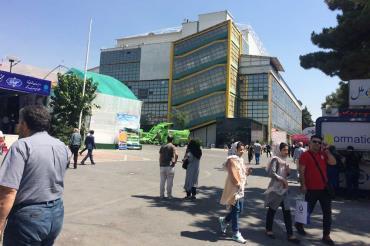 محوطه در نمایشگاه بین المللی دام، طیور و صنایع وابسته