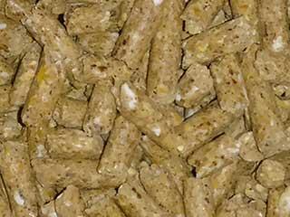 شکل فیزیکی خوراک استارتر گوساله
