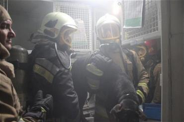 آتش سوزی کلینیک دامپزشکی در تهران مهار شد