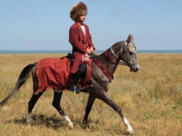 سوار اسب ترکمن