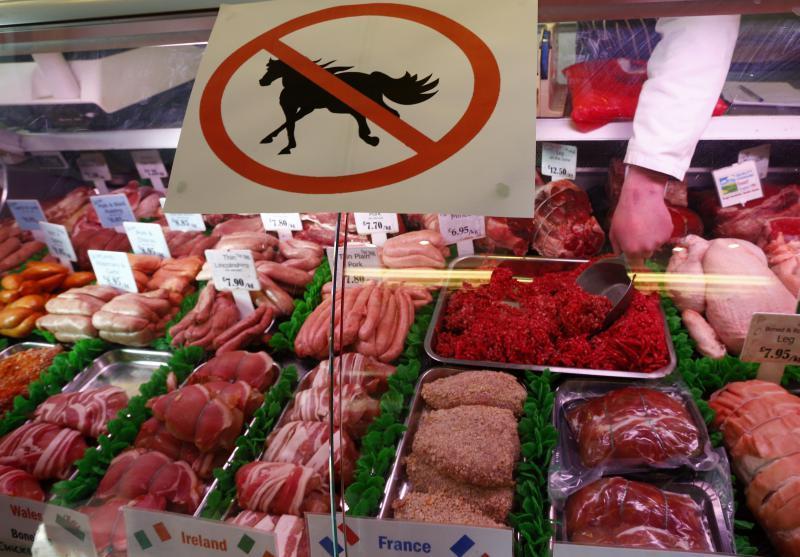 فروش گوشت اسب در اروپا