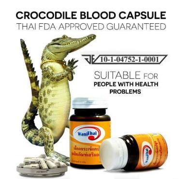 اثرات درمانی خون تمساح