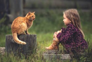 فواید حیوانات خانگی برای کودکان