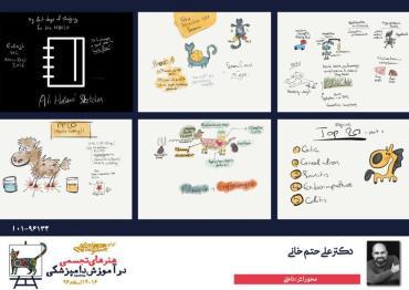 برگزیده هیات داوران جشنواره دامپزشکی تهران