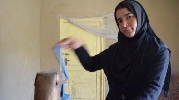 فروزان دختر زنبوردار افغان