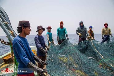 حضور کشتیهای چینی در دریای جنوب