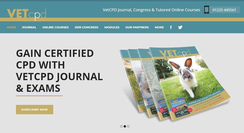 آشنایی با سایت VETCPD و دورههای آنلاین دامپزشکی
