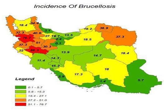 مهمترین علل افزایش بروز بیماری بروسلوز انسانی در کشور