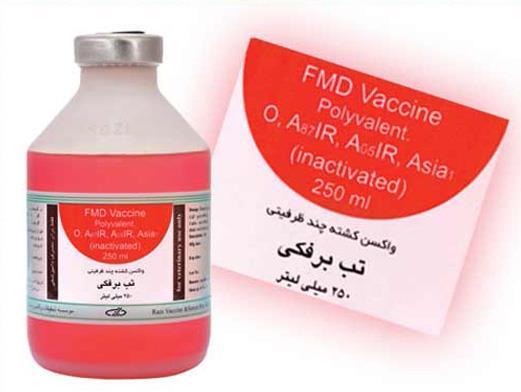 واکسن چند ظرفیتی تب برفکی
