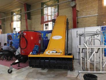 نمایشگاه ماشینآلات کشاورزی در تبریز