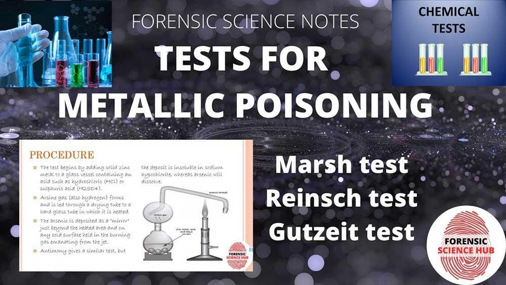آزمایش سریع سموم فلزی، روش Reinsch