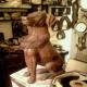 تندیس سگ کتک خورده ساخته شد!